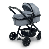 Bikini-Plus-Travel-System-Carry-Cot-Silver